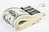 10 thousand US dollars Bundle fasten with paper clip | Stock Foto