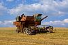 Combine harvester | Stock Foto