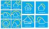 Photo 300 DPI: logo mit house and sun