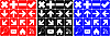 Photo 300 DPI: Set of simple icons
