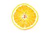 Sliced orange   Stock Foto
