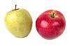 Czerwone i zielone jabłka | Stock Foto