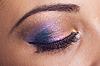 非常美丽的,梦幻般的女孩的眼睛。 | 免版税照片