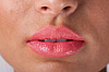 Sexy woman lips with pink make up | Stock Foto