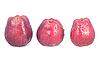 ID 3017700 | Red trzy jabłka z kropli wody. | Foto stockowe wysokiej rozdzielczości | KLIPARTO