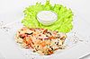 Tasty baked fish | Stock Foto