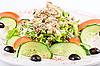 鲔鱼沙拉 | 免版税照片