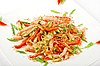 Seafood salad | Stock Foto