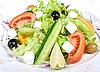 Greek salad | Stock Foto