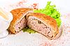 Beef cutlet   Stock Foto