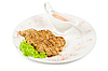 Fried chicken steak | Stock Foto
