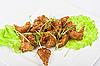 Baked fish caramel | Stock Foto