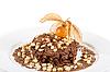 Chocolate risotto dessert | Stock Foto