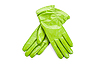 Green female leather gloves | Stock Foto
