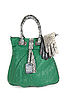 Photo 300 DPI: green women bag