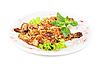 Filet z kurczaka smażone mięso   Stock Foto