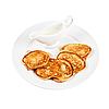 Tasty thick pancake | Stock Foto