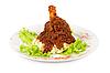 Ziemniaczana z mięsem | Stock Foto