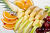 Fruit assortment closeup | Stock Foto