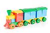 Photo 300 DPI: Colorful train toy