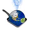 지구 온난화   Stock Foto