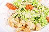 Caesar salad closeup | Stock Foto