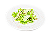 Photo 300 DPI: seafood salad