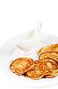 Thick pancake | Stock Foto