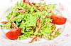 ID 3020797 | Salat vom Tintenfisch mit gebratenem Hühnerfleisch | Foto mit hoher Auflösung | CLIPARTO