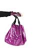 ID 3020918 | Purple women bag at hand | High resolution stock photo | CLIPARTO