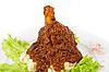 고기와 감자   Stock Foto