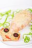 Baked squid | Stock Foto