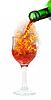 ID 3021267 | Rotwein und Feuer | Foto mit hoher Auflösung | CLIPARTO