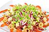 Salami salad | Stock Foto