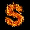 화재 문자 S   Stock Foto
