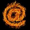 ID 3021457 | Email-Feuerzeichen | Foto mit hoher Auflösung | CLIPARTO