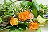 婚礼一束鲜花 | 免版税照片