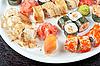 Sushi set   Stock Foto