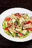 Salat von geräuchertem Aal | Stock Foto