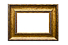 Picture gold frame | Stock Foto