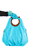 ID 3027352 | Blue woman bag at hand | High resolution stock photo | CLIPARTO