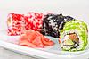 Photo 300 DPI: sushi rolls
