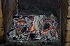 Live wood coals | Stock Foto