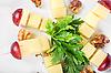 ID 3027635 | Сыр, орехи и виноград | Фото большого размера | CLIPARTO