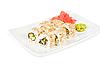 Sushi isolated   Stock Foto