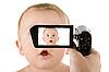 캠코더 아기 | Stock Foto