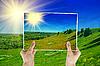 ID 3027703 | Zdjęcie z zielonym polu | Foto stockowe wysokiej rozdzielczości | KLIPARTO