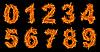 화재 번호 설정   Stock Foto