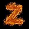 불 작은 문자 Z   Stock Foto