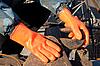 ID 3027990 | Orange Handschuhe | Foto mit hoher Auflösung | CLIPARTO